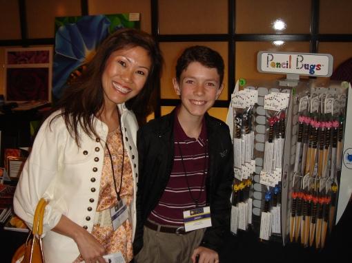 Giovanna Garcia with Jason O'Neill, Pencil Bugs